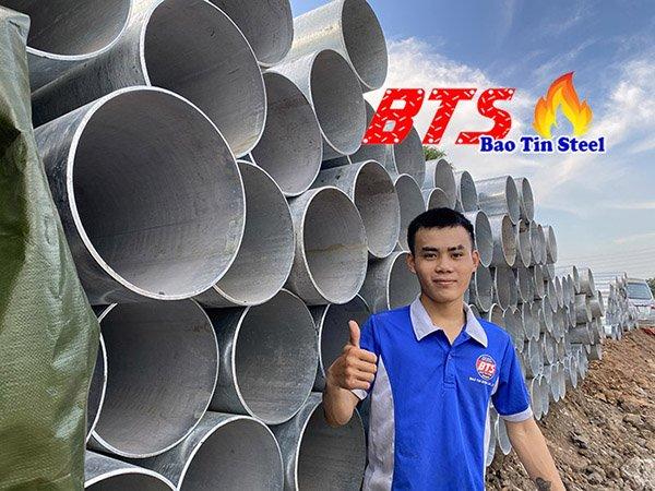 Ống thép mạ kẽm phi 27 - ống thép SeAH