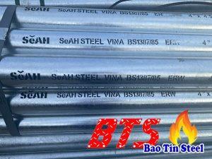 Thép mạ kẽm SeAH, ống thép mạ kẽm Hòa Phát, ống thép mạ kẽm Việt Đức, ống thép VinaOne